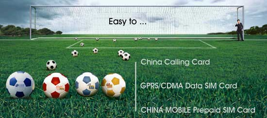China Mobile prepaid SIM card